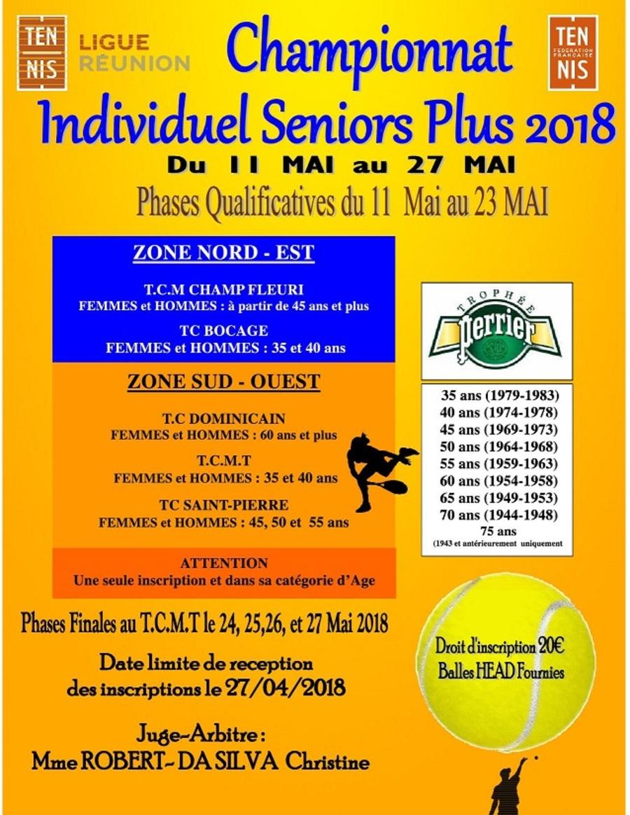 Championnat individuel seniors +
