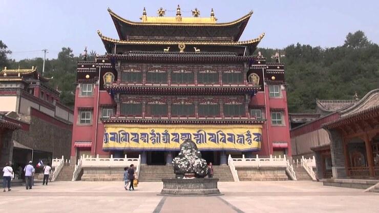 Le monastère de Kumbum