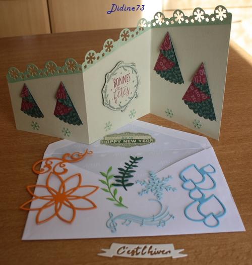 Noël 2018 : échange de cartes - pour Caricole-1