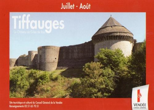 Tiffauges -chateau de Gilles de Rais
