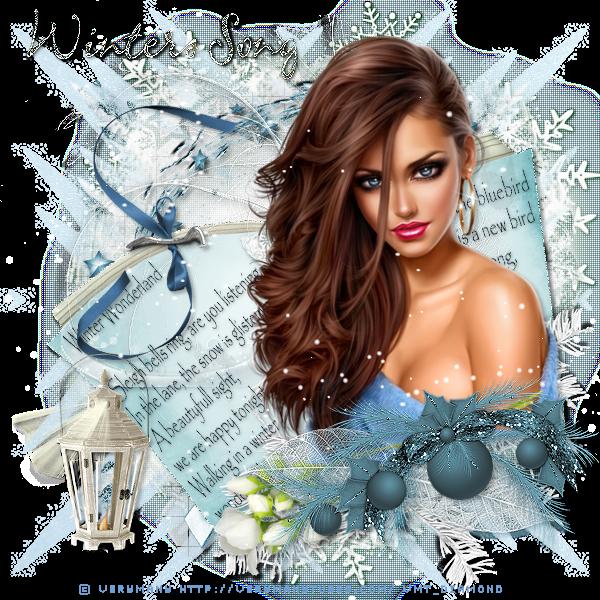 """Tutoriel """"Winter Song"""" de Clairette design"""