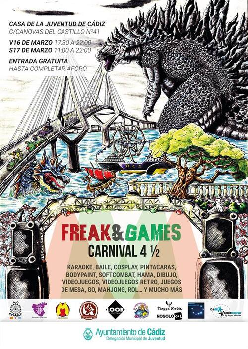 Freak & Games Odaiba 2018