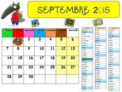 Le calendrier de Loup version Guadeloupe