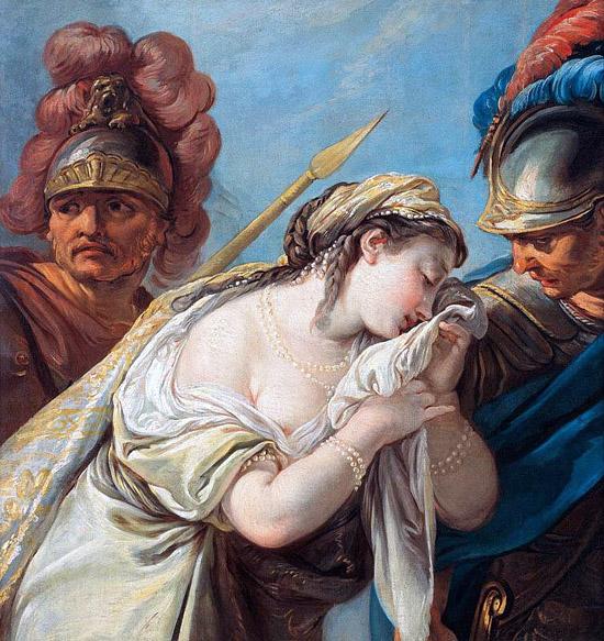 Achille et Briséis de Deshays