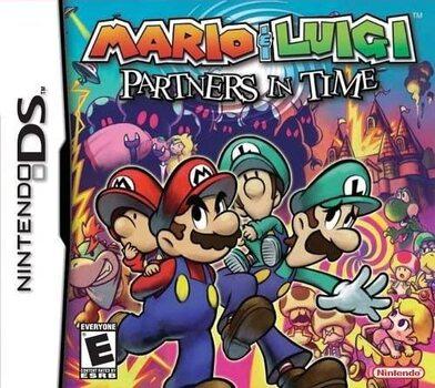 Mario et Luigi les Frères du temps (ds)
