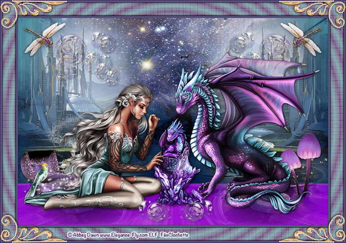 Valyria et le dragon