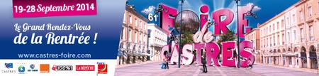 Foire de Castres 2014