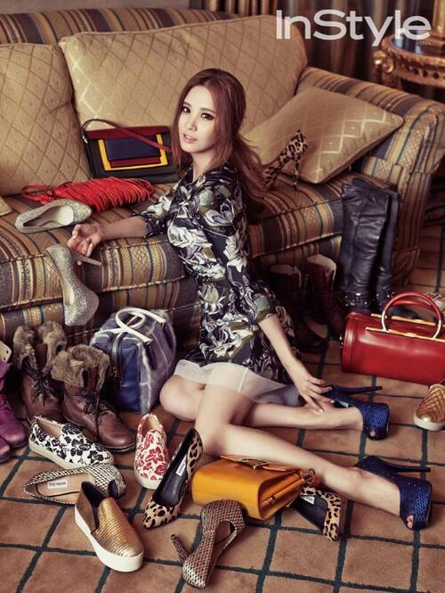 Seo Hyun pour InStyle