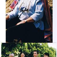 Tata Catherine et un p'tit bout de sa famille
