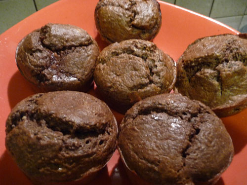 muffins chocolat et tofu soyeux