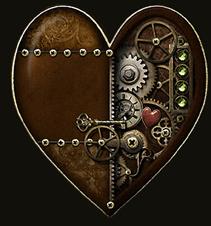 Steampunk-Pendules