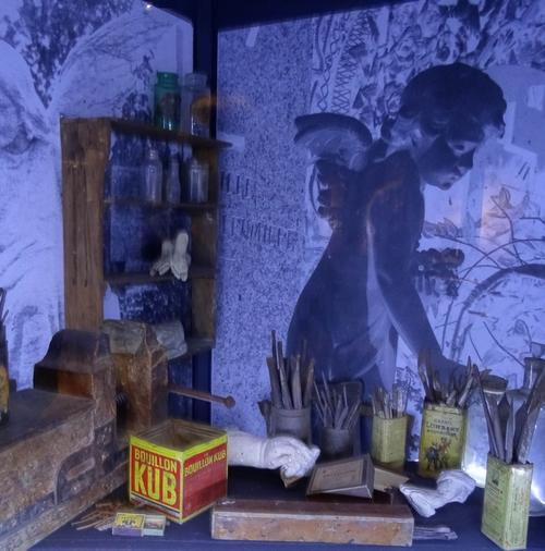 """""""Eloge du souvenir..."""", une très belle exposition sur le sculpteur Léopold Argenton, présentée au Musée du Pays Châtillonnais-Trésor de Vix"""