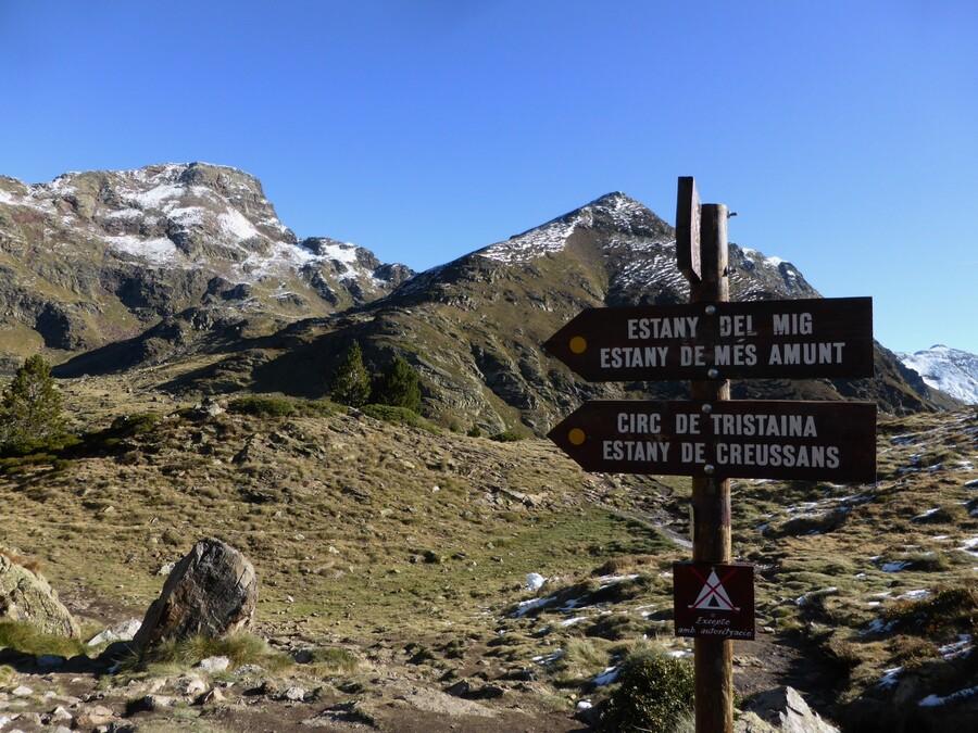 Rando aux Lacs de Tristaina ( Arcalis-Andorre )