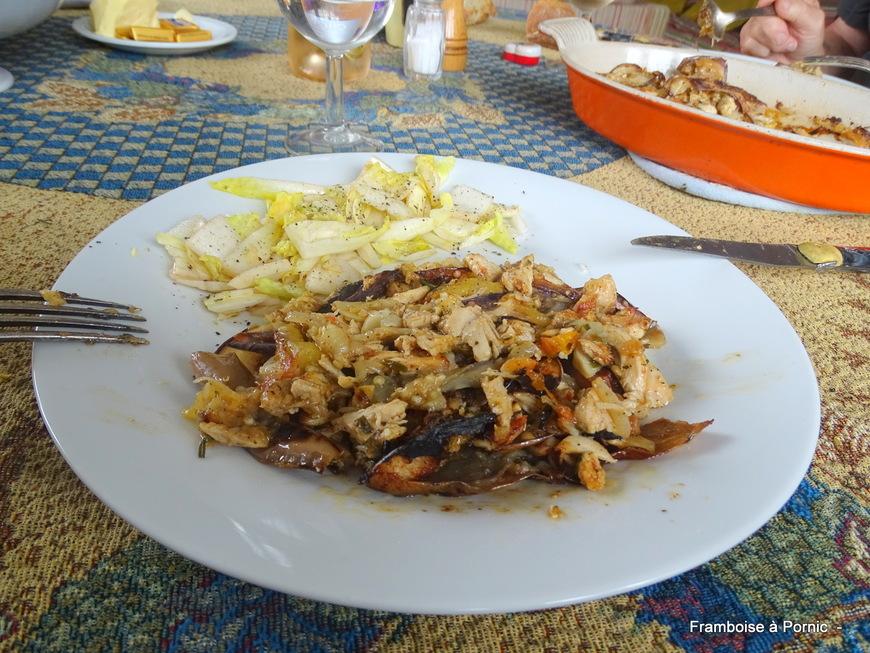 Moussaka blanc de poulet