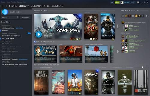 Valve présente la nouvelle version de Steam