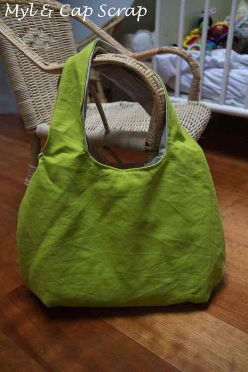 Mylène - Couture : Un sac réversible