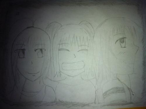 Keiko, Rysa et Misaki