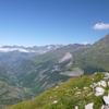 Du pic Mourgat (2103 m), pic Long et vallée de Gavarnie