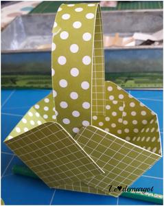 Scrap / Un tuto pour un panier de Pâques