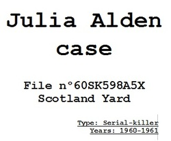 Julia Alden case