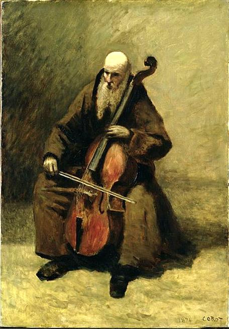 le Moine au violoncelle