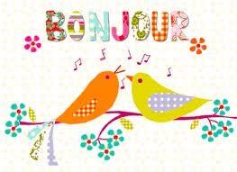 bonjour oiseaux