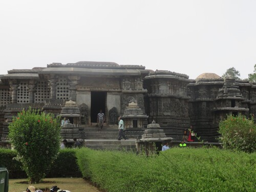 Halebid, temple Hoysala