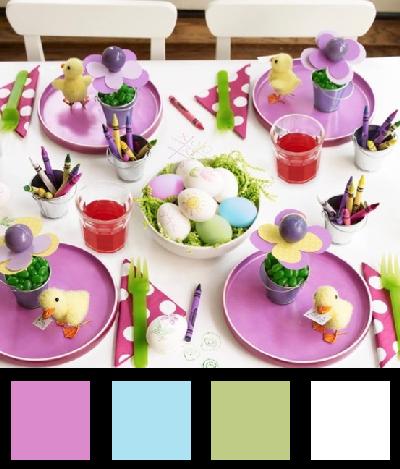 La table de Pâques - Nuancier 2