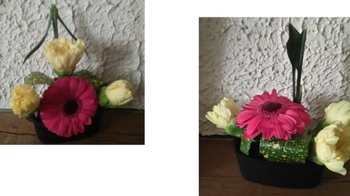 Compositions florales libres