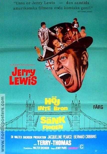 TE CASSE PAS LA TETE JERRY - JERRY LEWIS BOX OFFICE 1968
