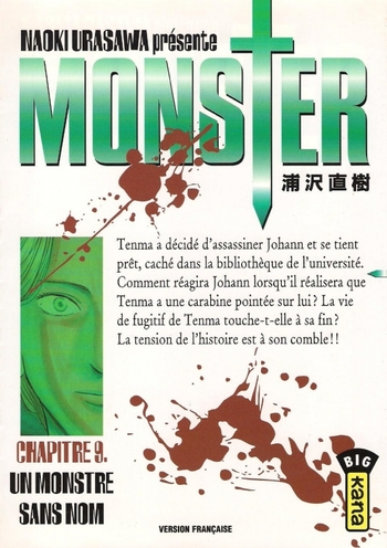 Monster :  Résumés des tomes (9 à 11)