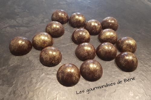 Chocolat noir / praliné
