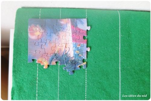 Un puzzle dans le calendrier de l'avent