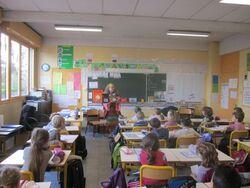 Une école dans le Rhône