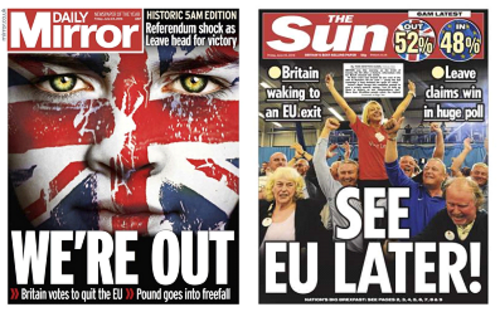 Le Brexit c'est maintenant !