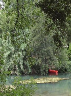 Un tour en barque :
