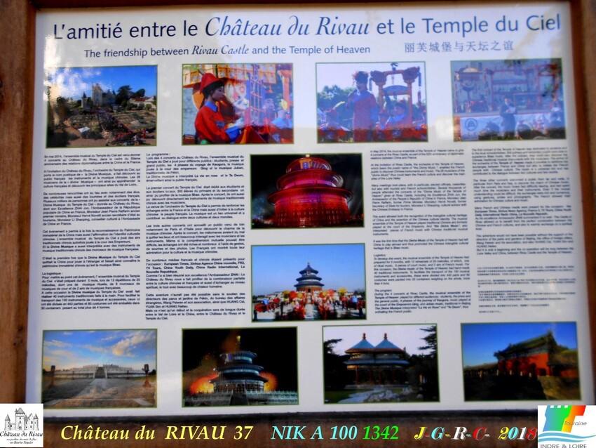 CHÂTEAU & JARDINS DE RIVAU   1/4 - 7/10      D       09/02/2020