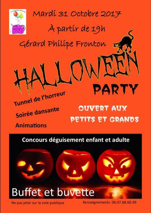 HALLOWEEN PARTY du mardi 31 octobre