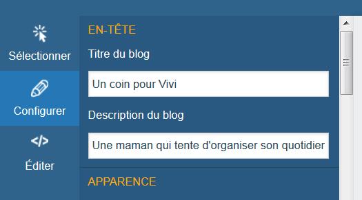 Insérer des badges sociaux sur votre blog Overblog Kiwi (nouvelle version)