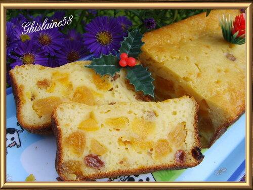 Cake au yaourt et aux fruits secs