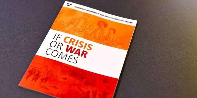 Suède: Un manuel pour se préparer «en cas de crise ou de guerre» envoyé à 4,8 millions de foyers