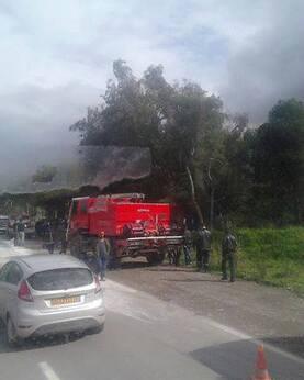 Trois blessés dans un accident de circulation à Aokas