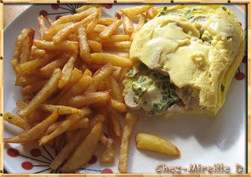 Omelette aux Champignons avec Cuiseur Solo Tupperware