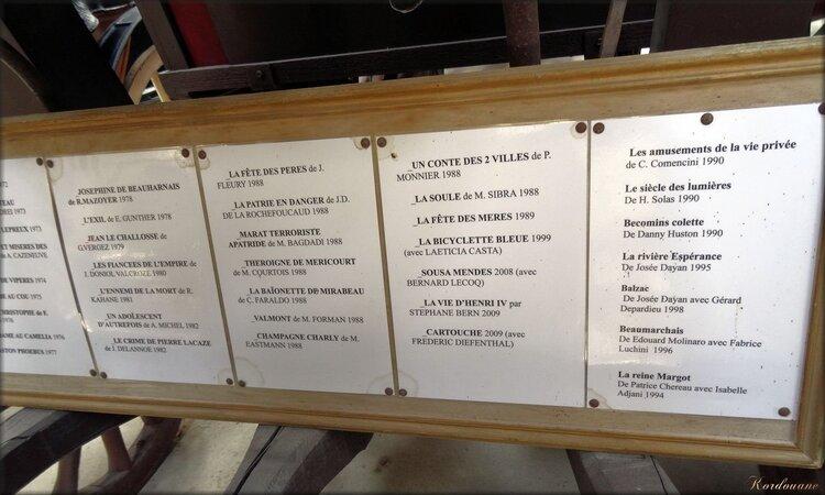 Filmographie avec des hippomobiles de ce musée