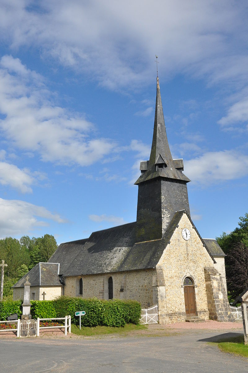Église Saint-Martin de La Roque-Baignard.JPG
