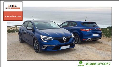 Offre de location de voiture à Casablanca – Renault Megane 4