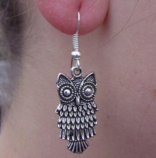 Quelques nouveautés côté bijoux in the city !!! boucles d'oreilles chouettes