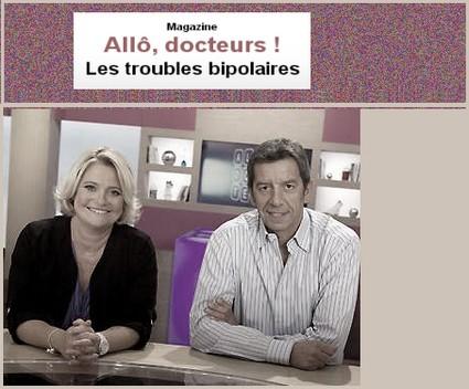 Copie écran émission TV Les troubles bipolaires .