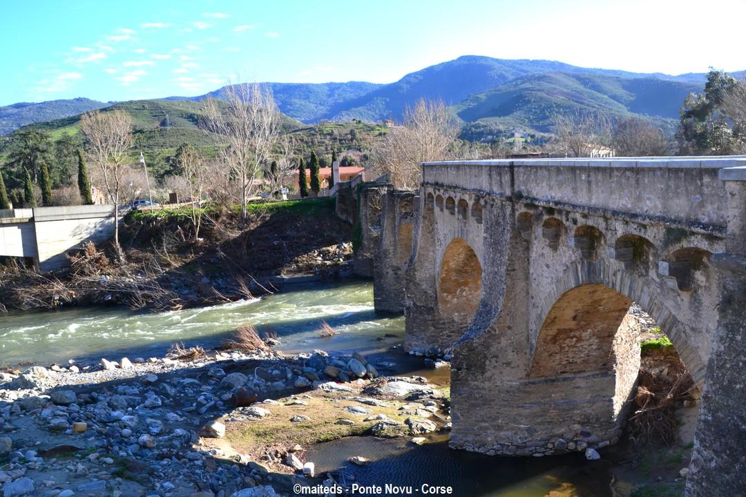 Pont génois de Ponte-Novu - Corse