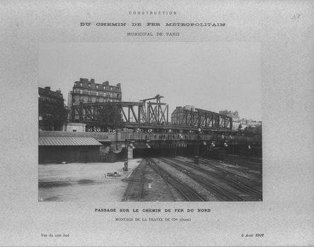 le pont Saint-Ange 6 août 1902
